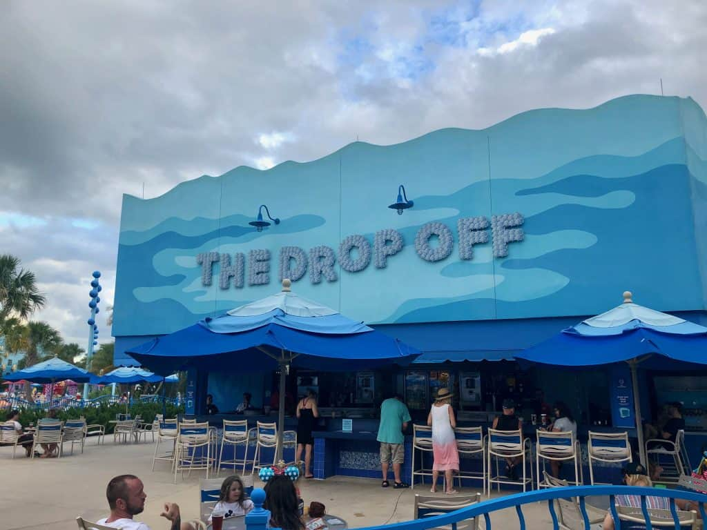 "Disney Art of Animation pool bar, ""The Drop Off"""