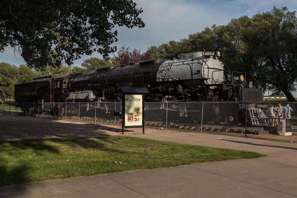 Big Un train at Holliday Park in Cheyenne