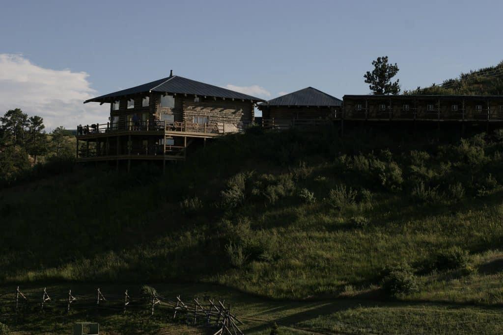 House at Bit-O-Wyo Ranch, Wyoming