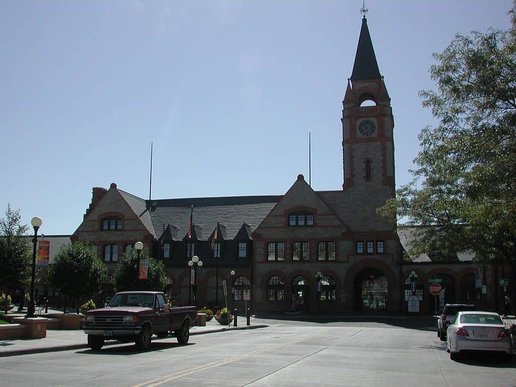 Cheyenne Depot Museum exterior