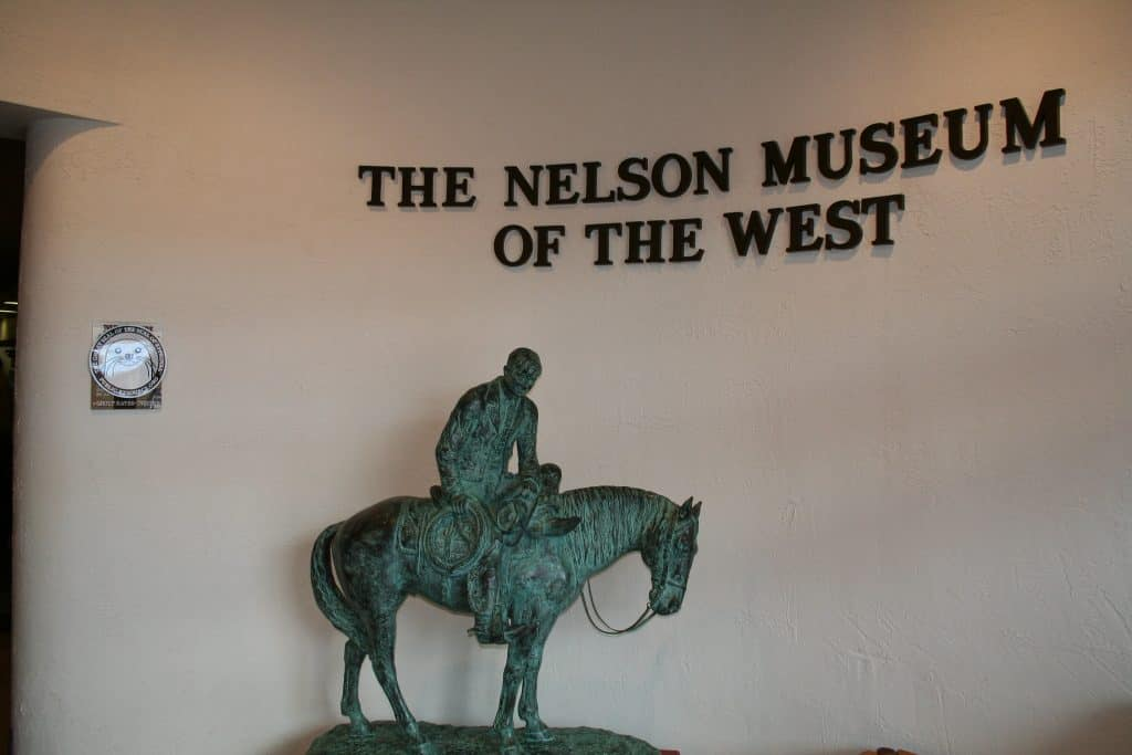 Statue in Nelson Museum of the West