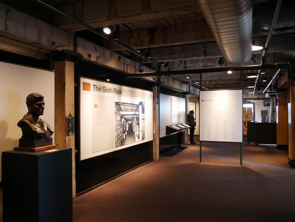 Inside Sixth Floor Museum Dallas Texas