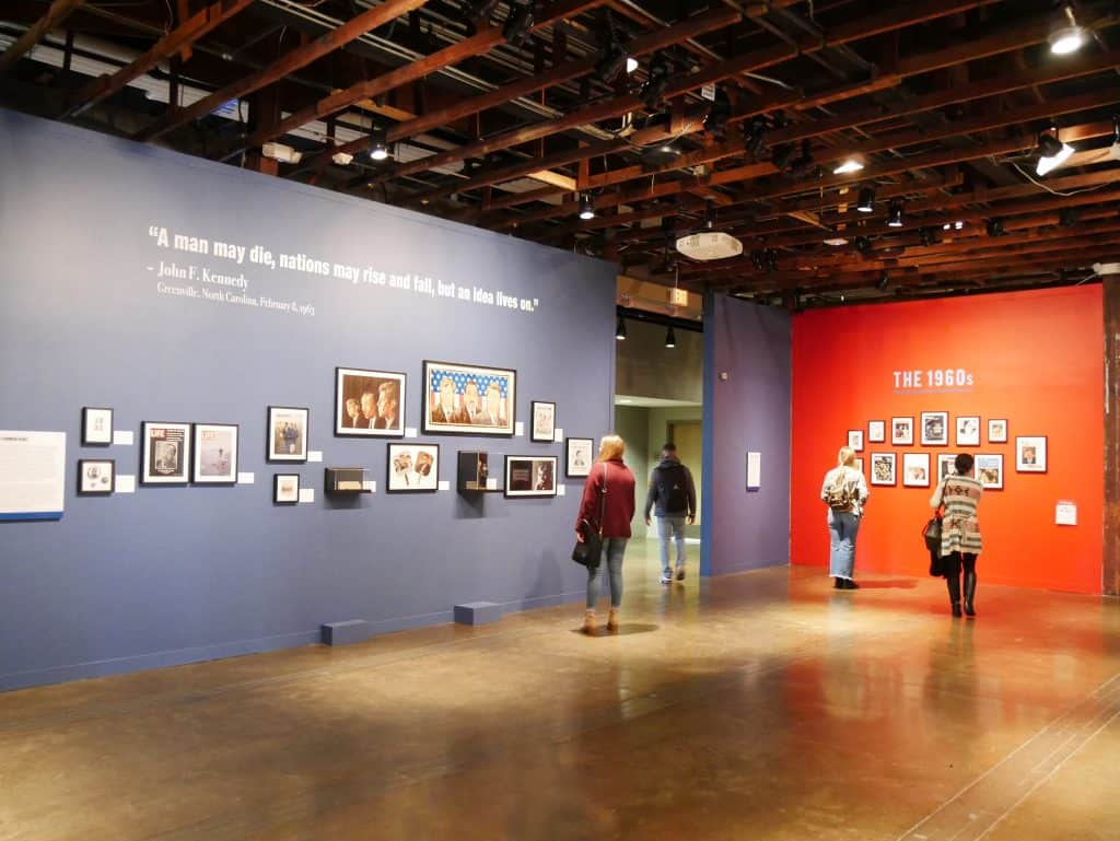 Inside Sixth Floor Museum Dallas, Texas