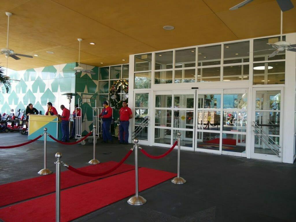 Disney World All-Star Movies entrance