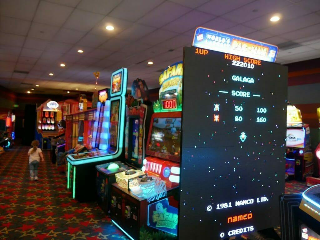 All-Star Movies resort arcade
