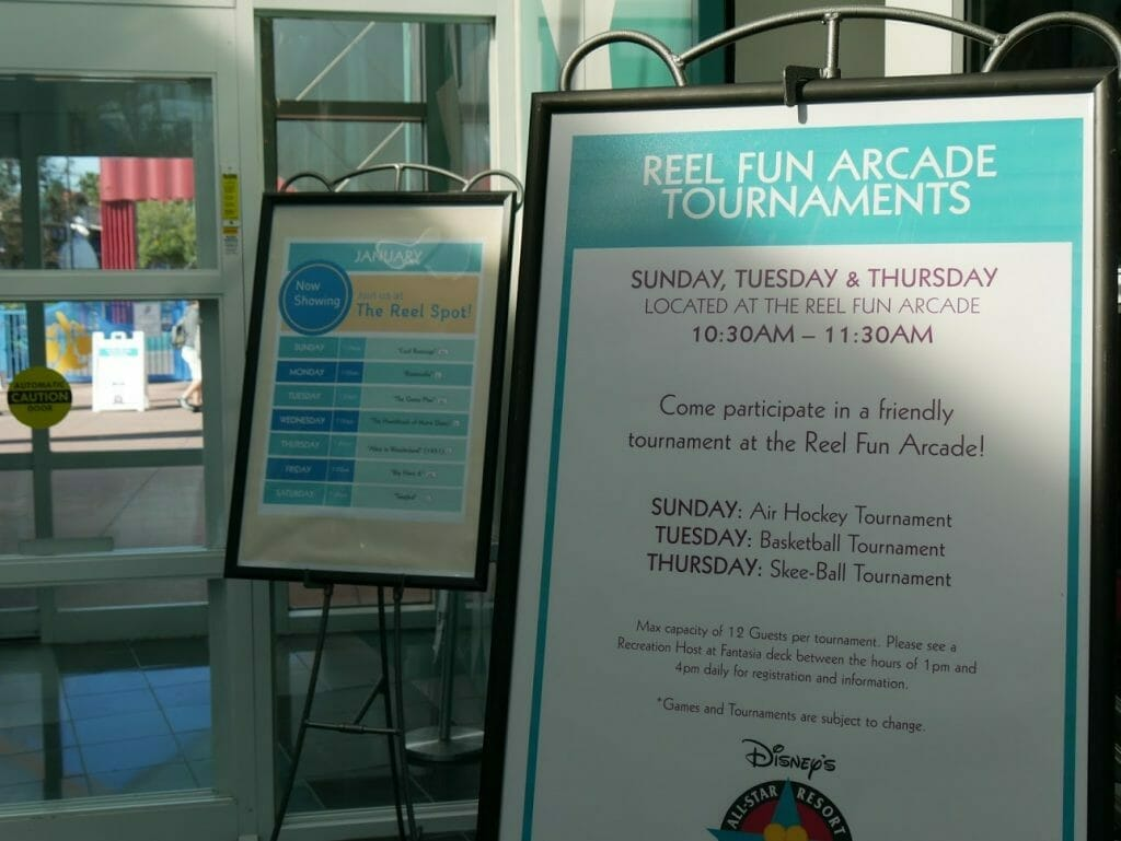 All-Star Movies activities board