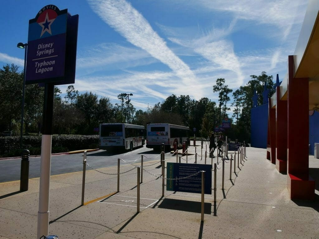 All-Star Movies review bus transportation area