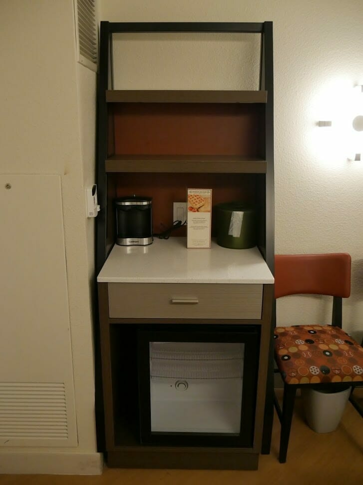 Disney All-Star movies resort room review kitchenette