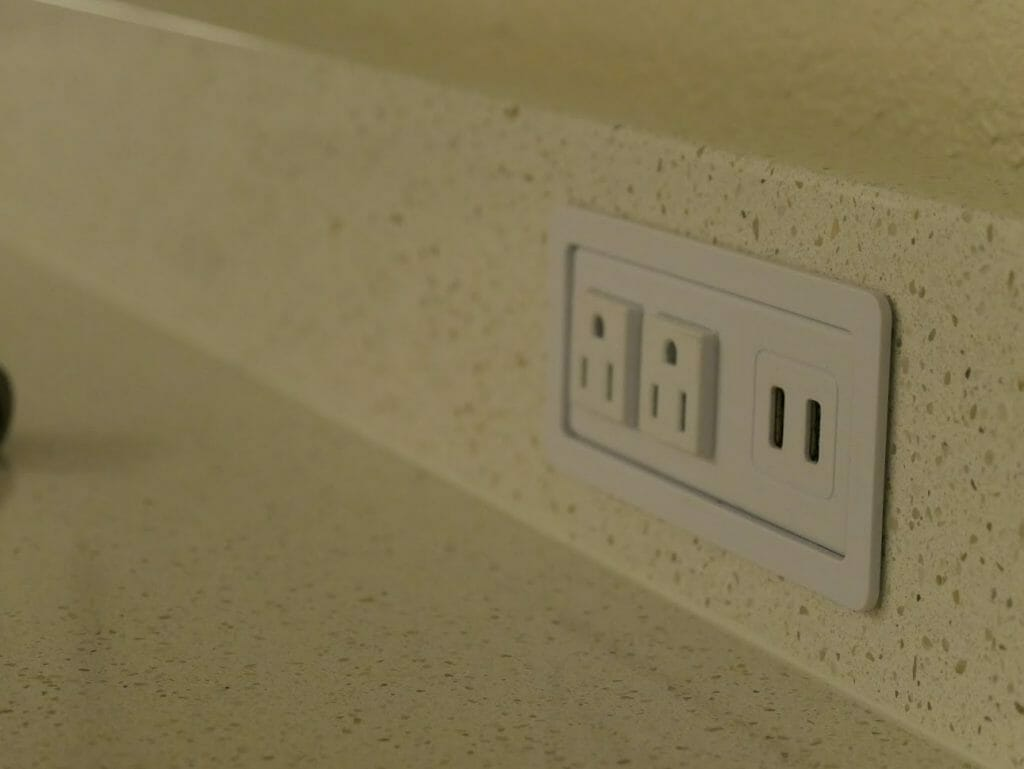 Disney All-Star movies resort room review charging outlets