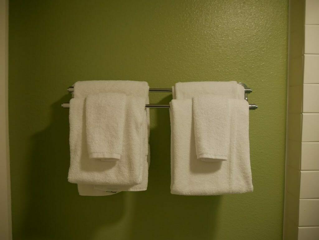 Disney All-Star movies bathroom towels