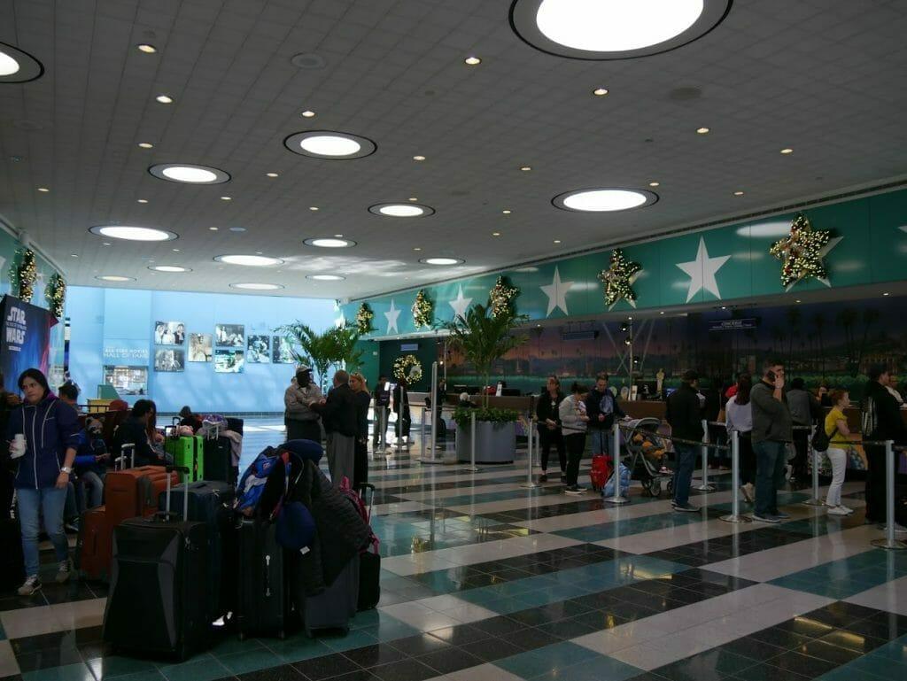 Disney All-Star Movie Resort Lobby