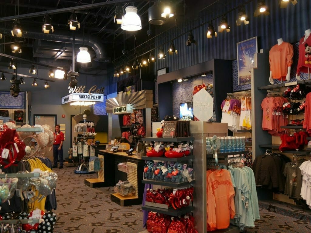 All Star Movies gift shop