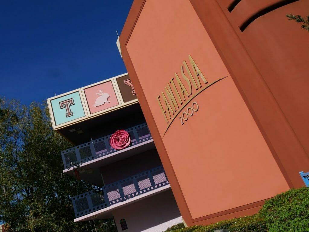 Fantasia building at All-Star Movies resort Disney