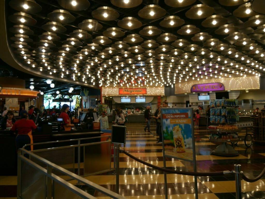 Disney World All Star Movies Resort Food Court interior