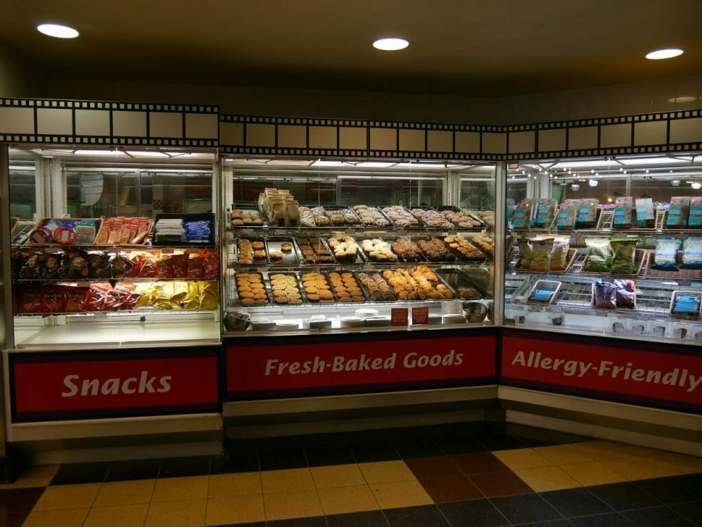 Disney World All Star Movies Resort Food Court baked goods