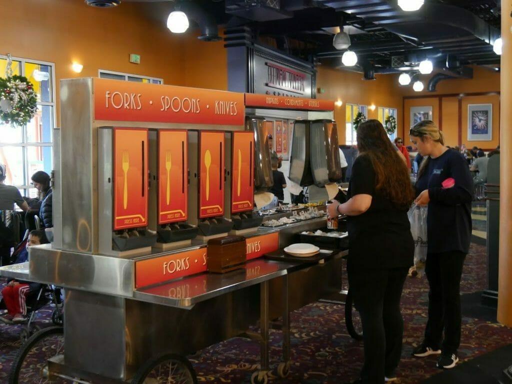 Disney World All Star Movies Resort Food Court