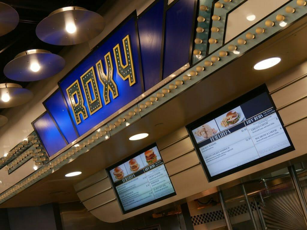 Disney World All Star Movies Resort Food Court restaurant menu