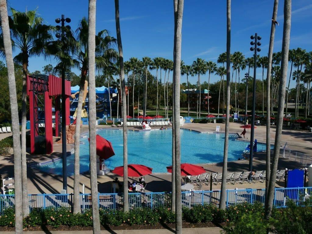 Disney All-Star Movies pool review Fantasia pool