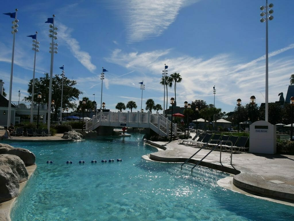 Part of the pool complex at Beach Club