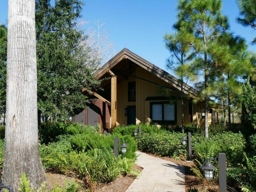 A Copper Creek cabin at Disney Wilderness Lodge