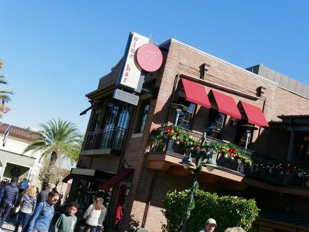 Wine Bar George at Disney Springs Disney World