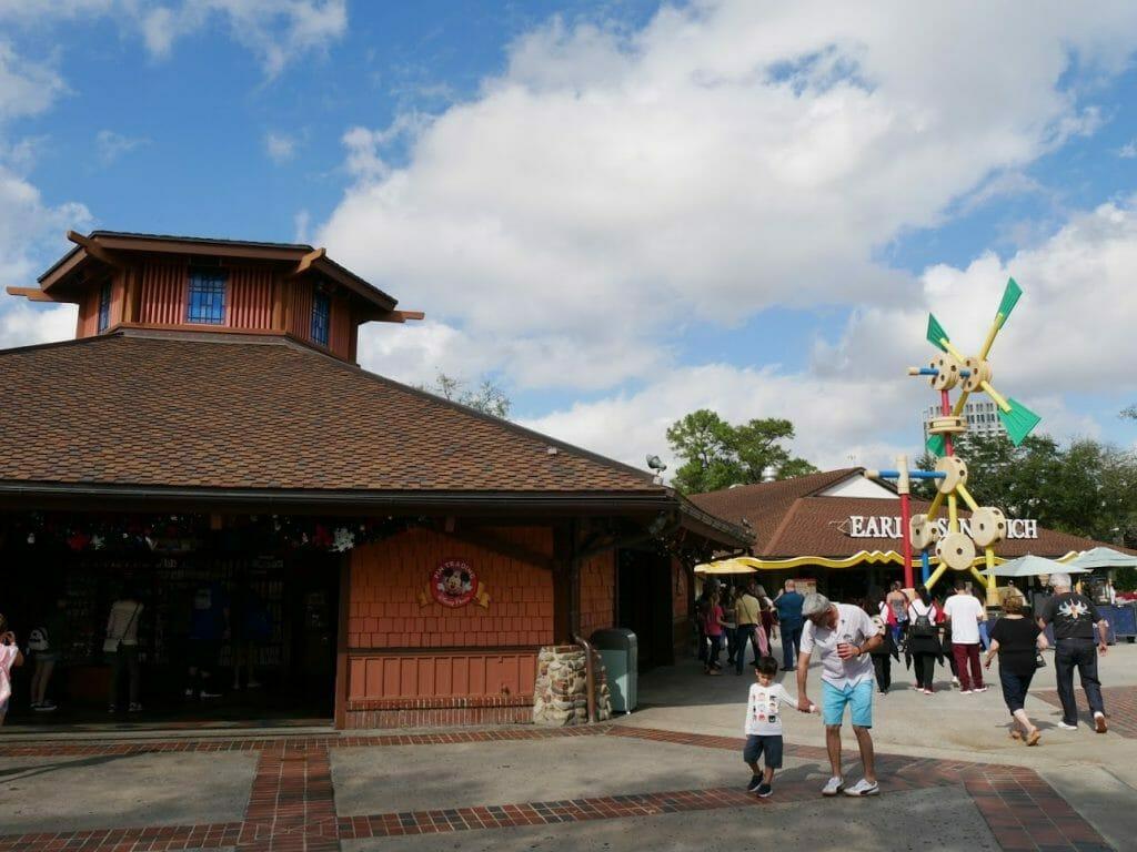 The Pin Trading store at Disney Springs
