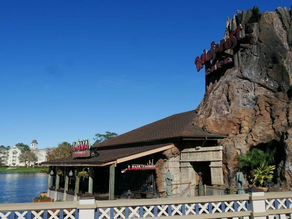 Disney Springs Rainforest cafe entrance