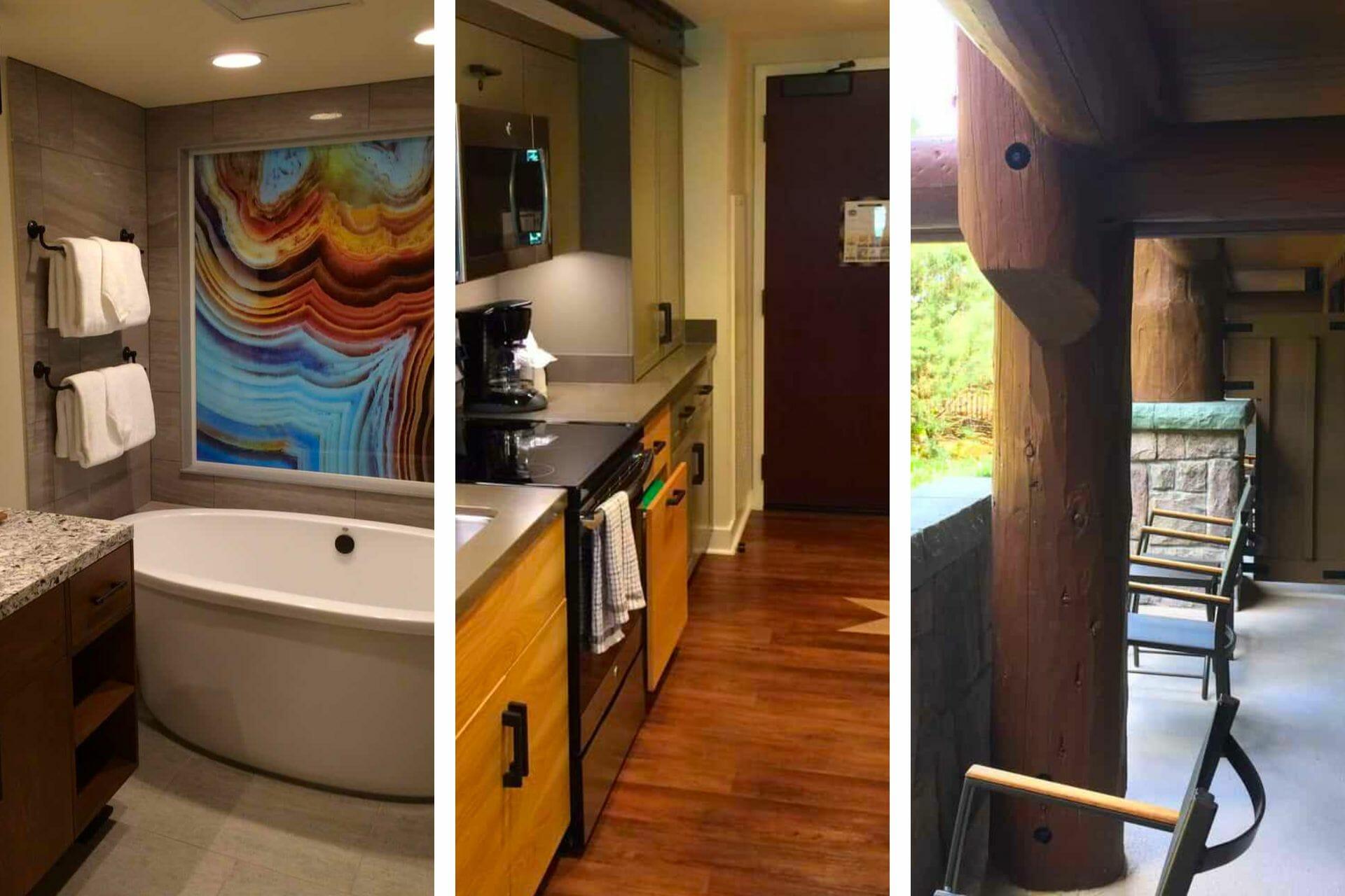 Honest Copper Creek One Bedroom Villas Review at Disney's Wilderness Lodge (2021) via @allamericanatlas