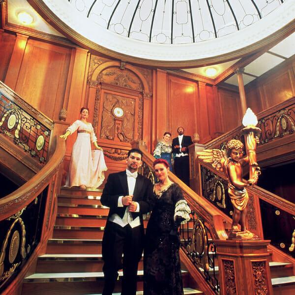 Titanic dinner theater in Orlando