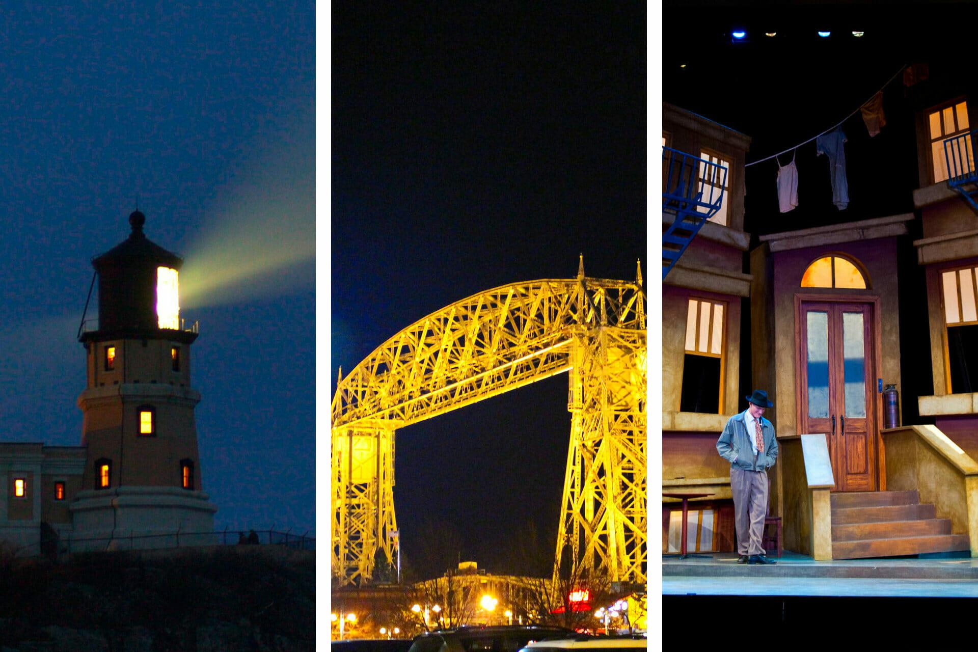 13+ Fantastic Things to Do in Duluth, Minnesota at Night (2021) via @allamericanatlas