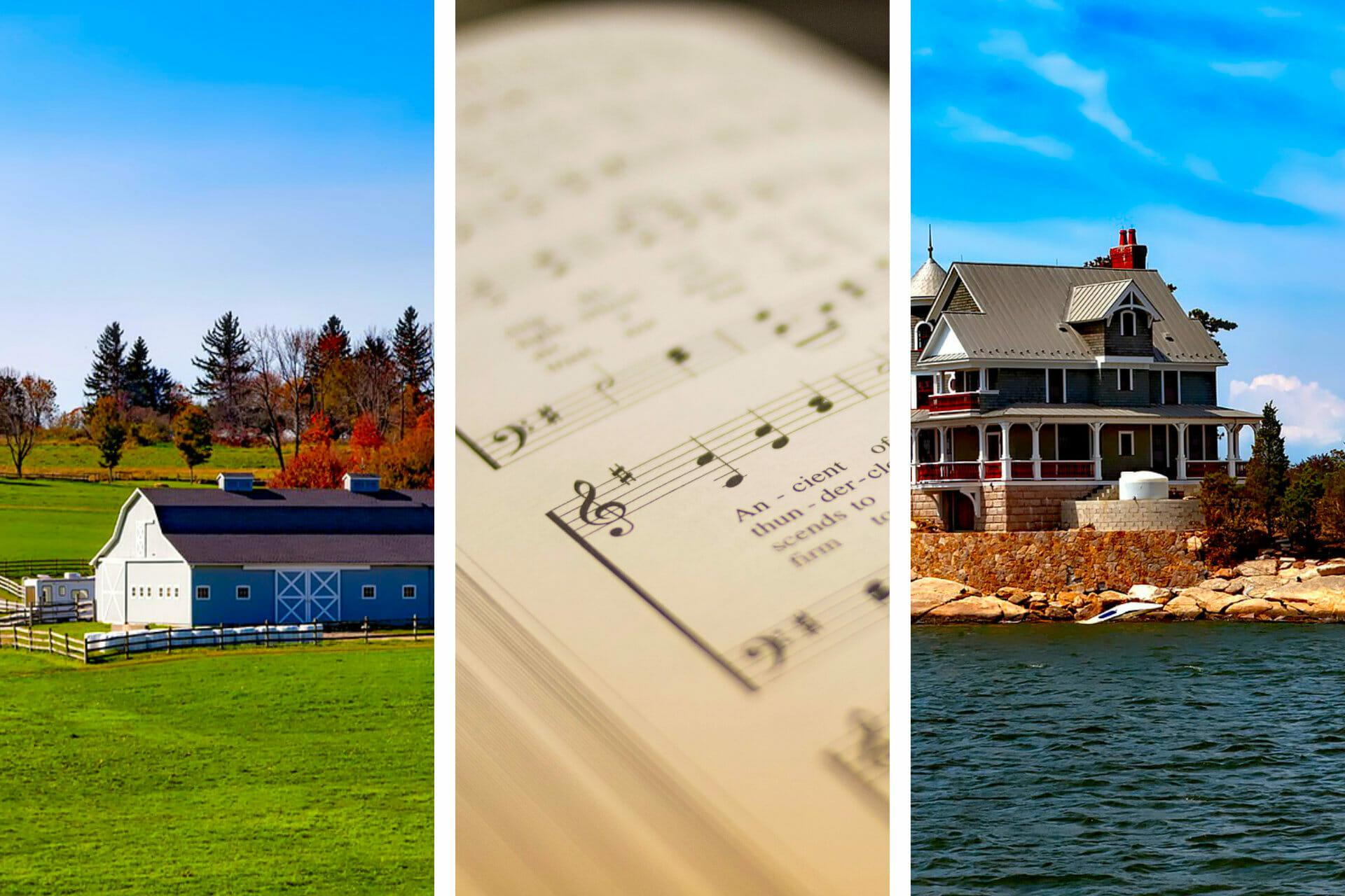 16+ Songs about Connecticut to Make You Smile via @allamericanatlas