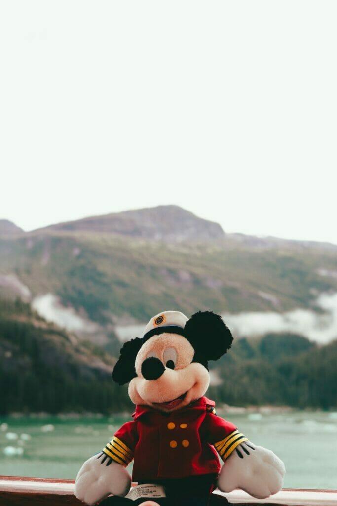 mickey mouse cruise in glacier bay alaska