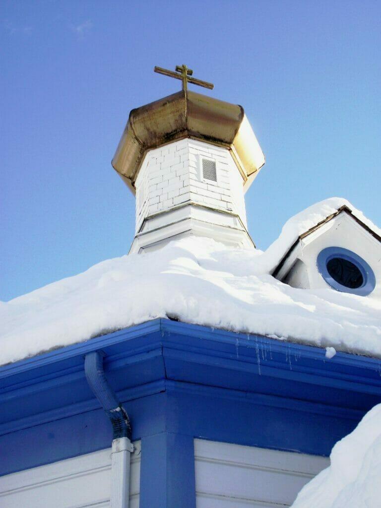 church roof in juneau alaska
