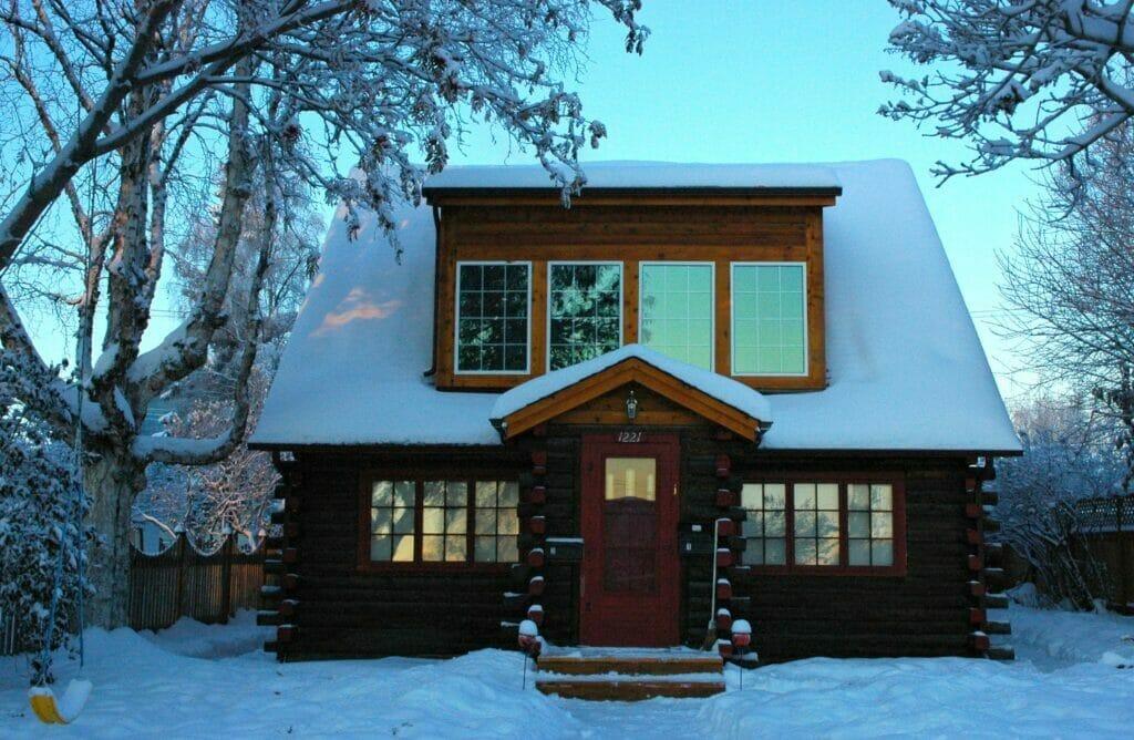 cabin in meadow lakes alaska