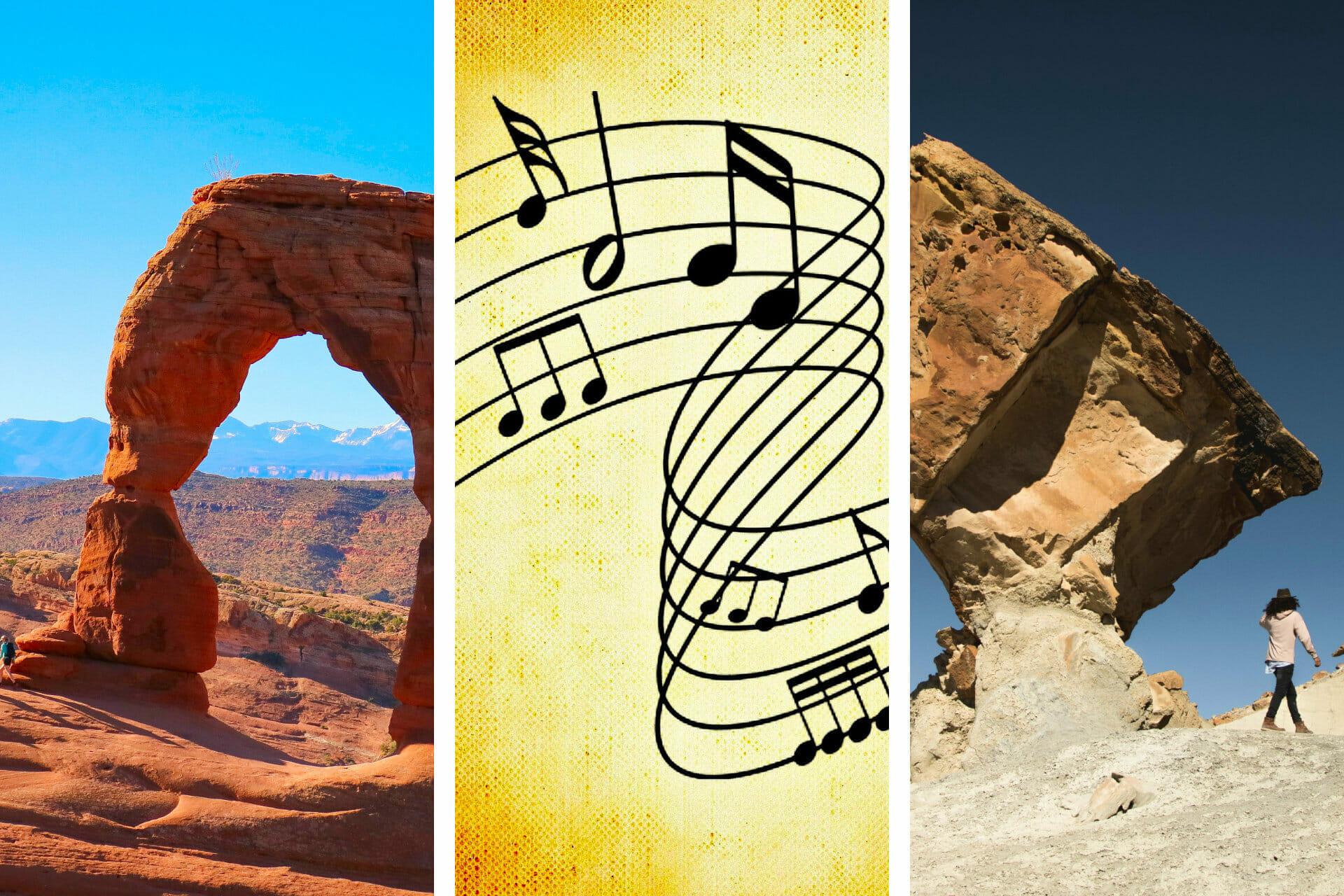 25+ Songs about Utah to Make You Grin via @allamericanatlas