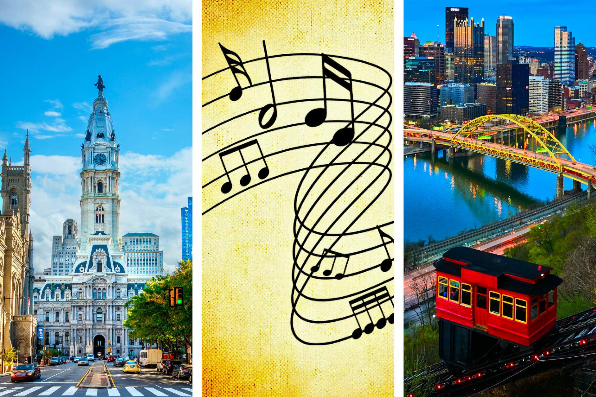 29+ Songs about Pennsylvania to Brighten Your Day via @allamericanatlas