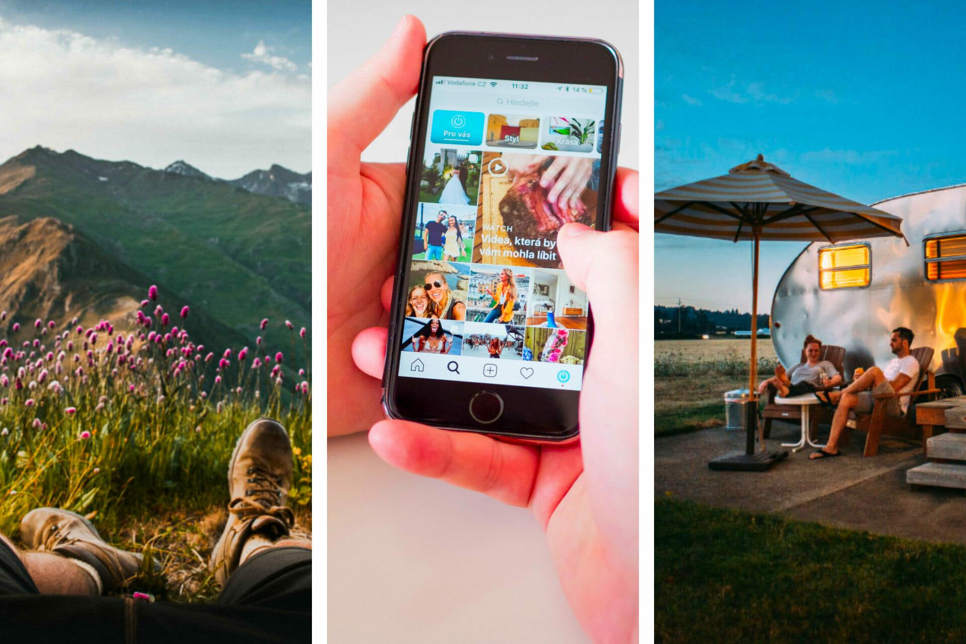53 Unique Camping Instagram Captions for the Perfect Post via @allamericanatlas