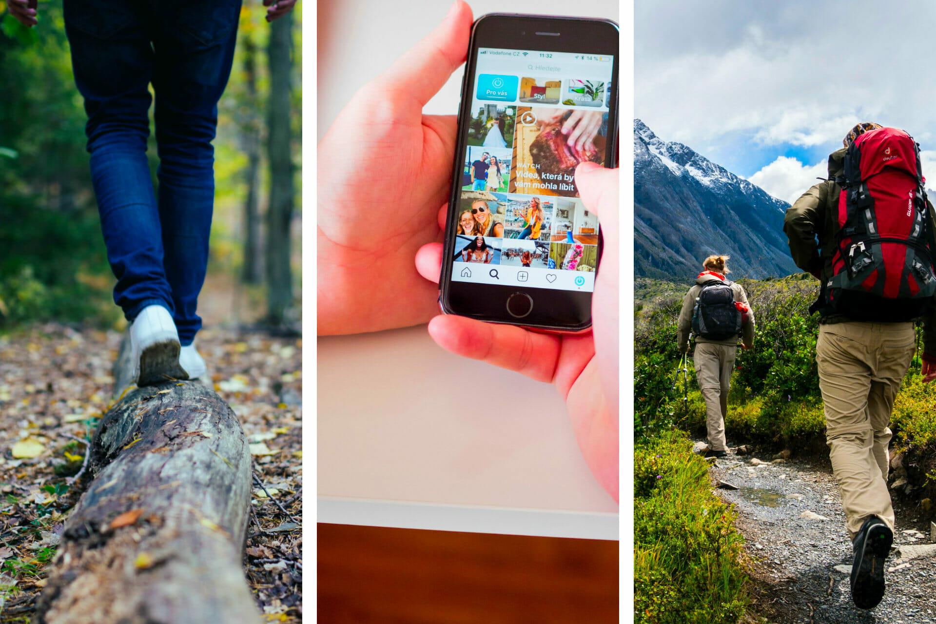 61+ Unique Hiking Instagram Captions for the Perfect Post via @allamericanatlas