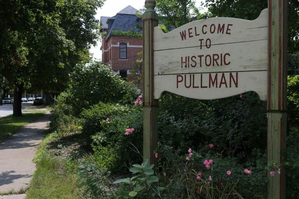 historic pullman sign