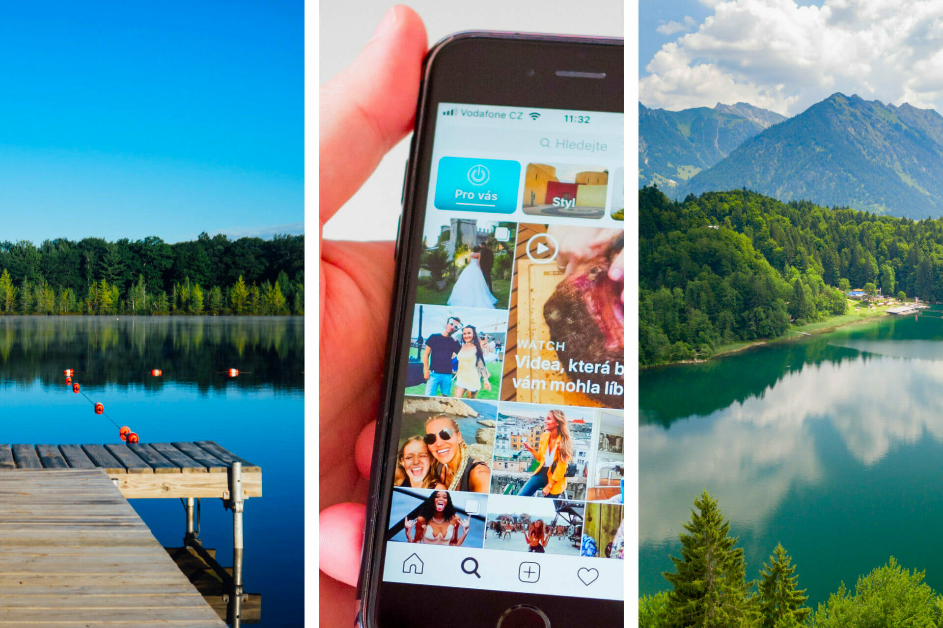 33 Unique Lake Captions for Instagram via @allamericanatlas