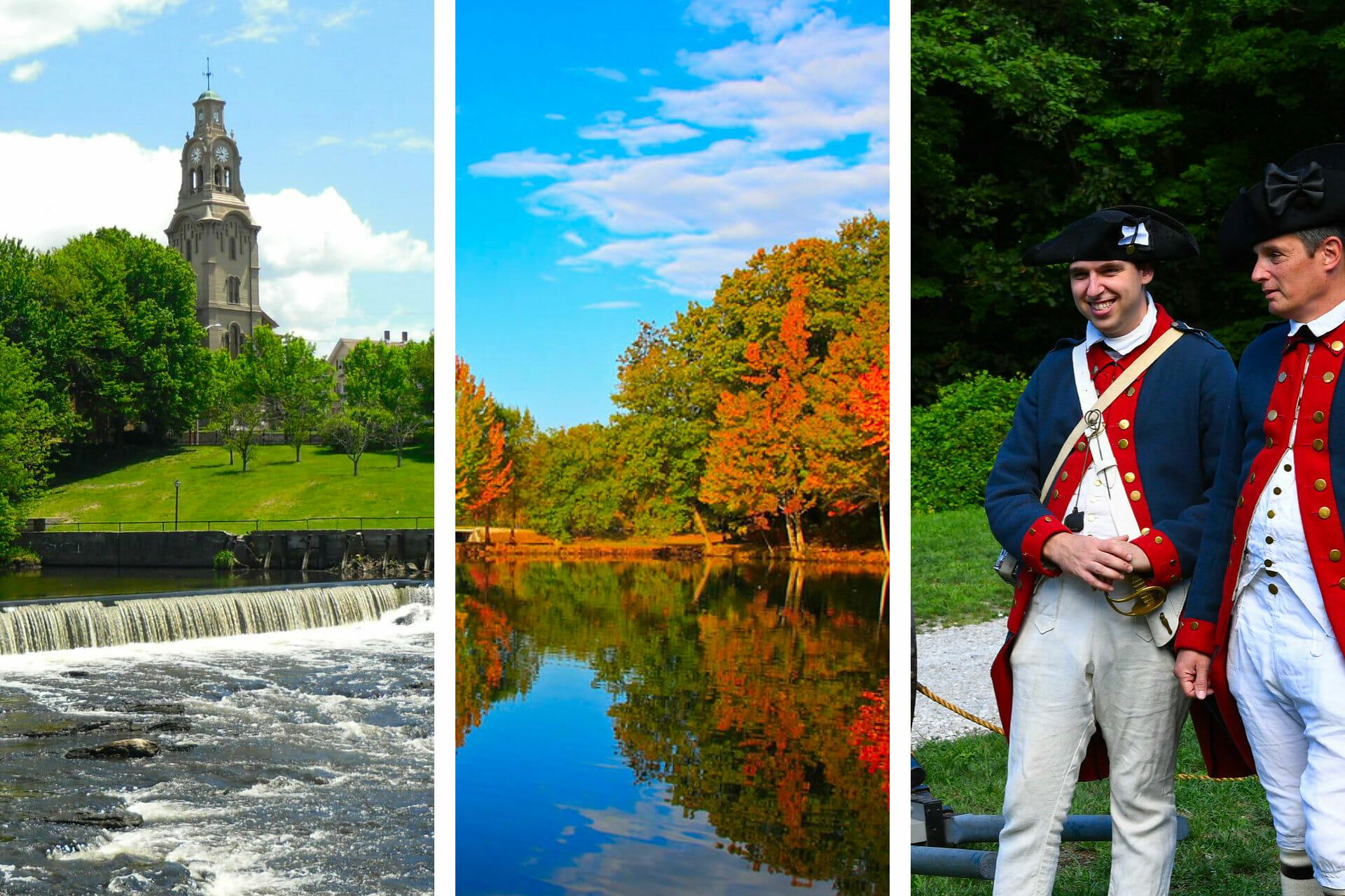 Rhode Island National Parks: Insider Tips for Visiting all 4 (+ Maps) via @allamericanatlas