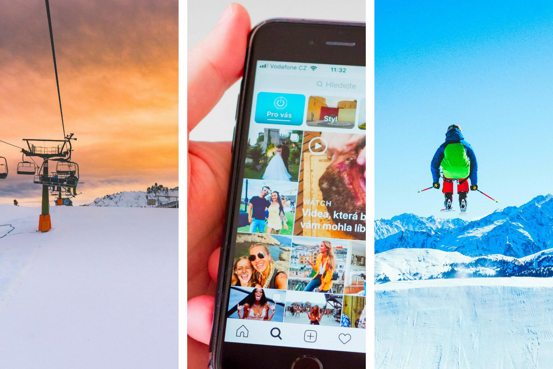 75 Unique Skiing Instagram Captions for the Perfect Post via @allamericanatlas