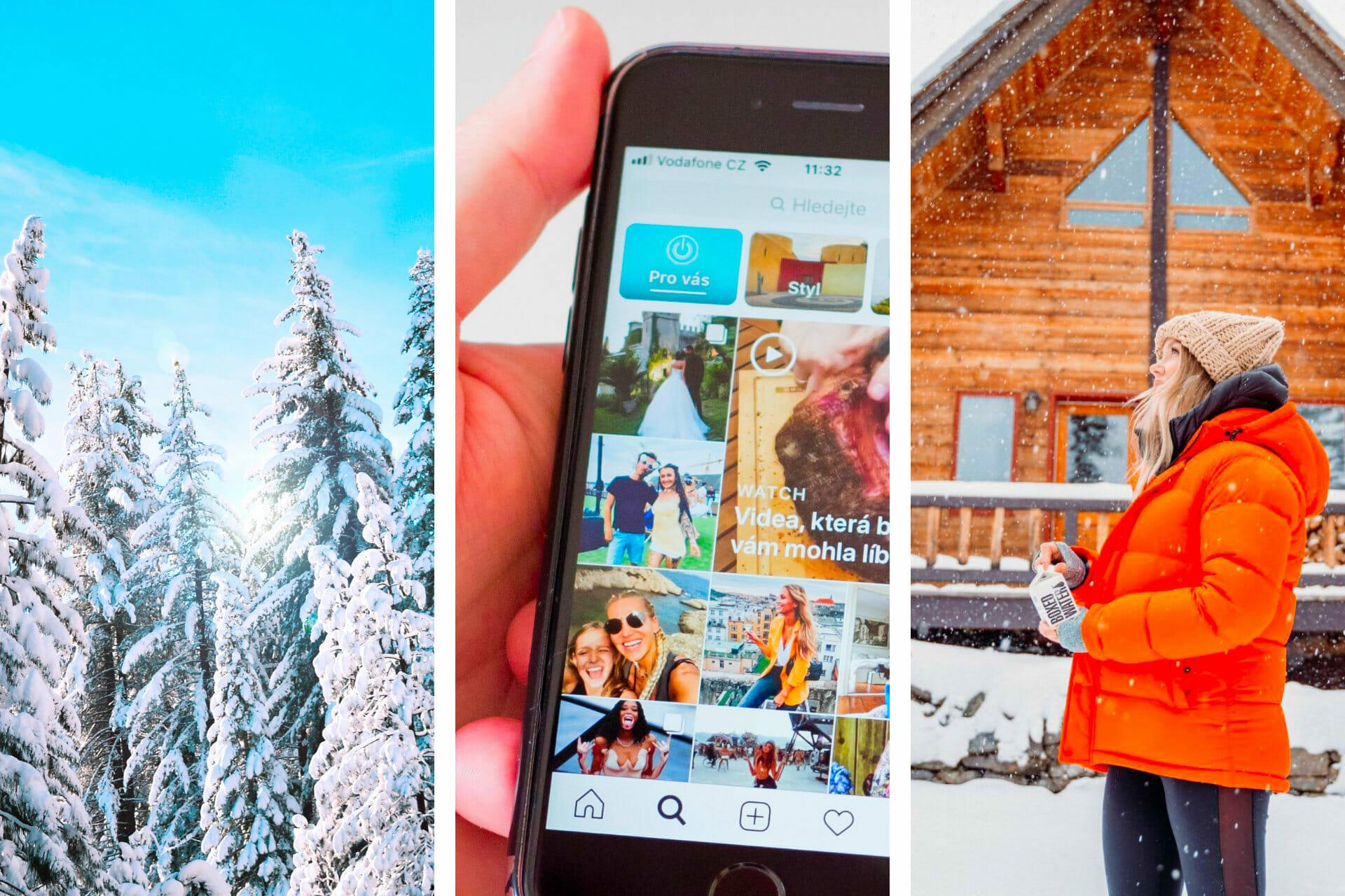 71 Unique Snow Instagram Captions via @allamericanatlas