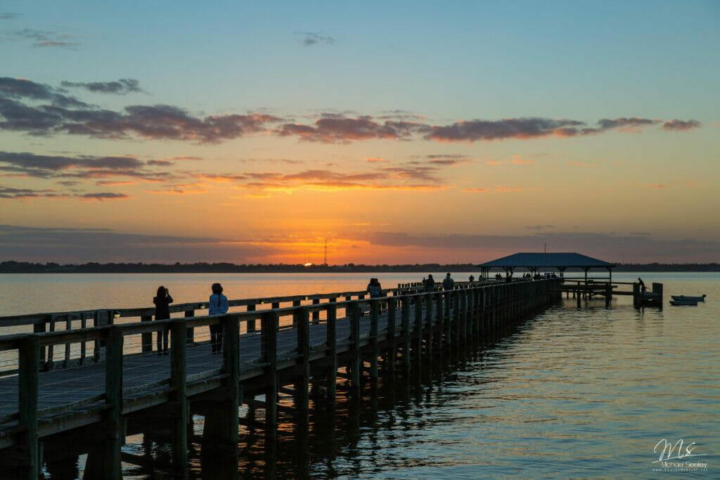 pier on melbourne beach florida