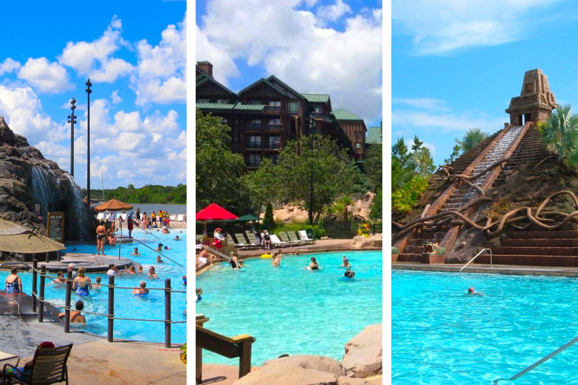 11 Best Pools at Disney World (+ the worst Disney pools!) via @allamericanatlas