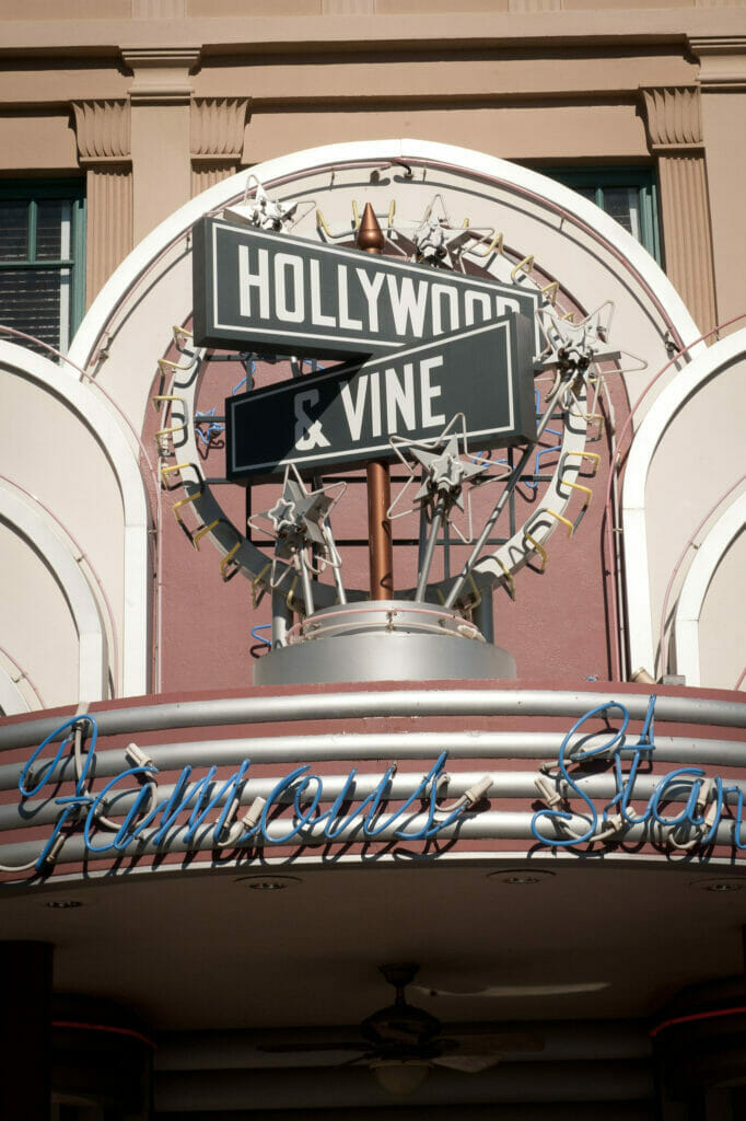 Hollywood and Vine sign Hollywood Studios