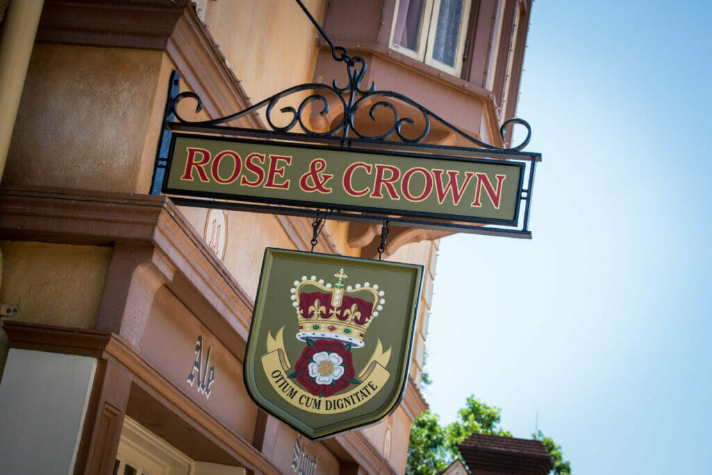 Rose and Crown Epcot