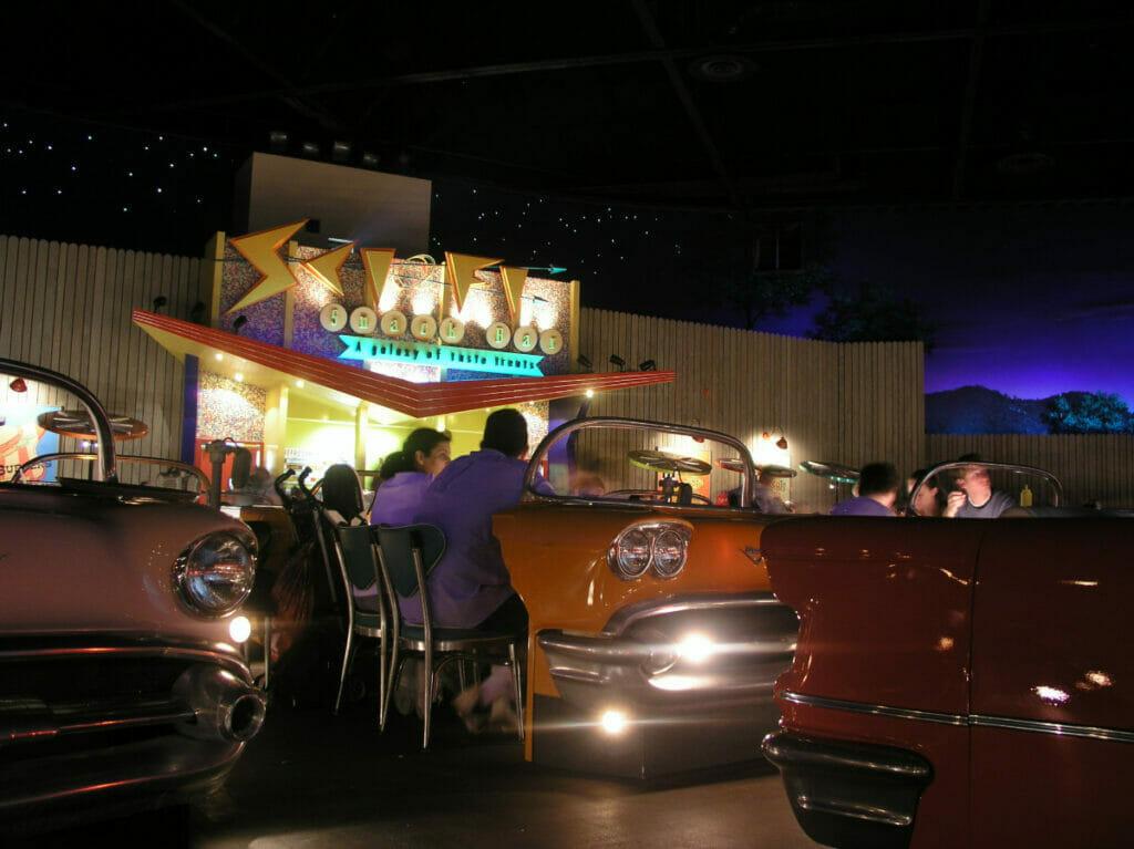 Sci-Fi Dine In interior