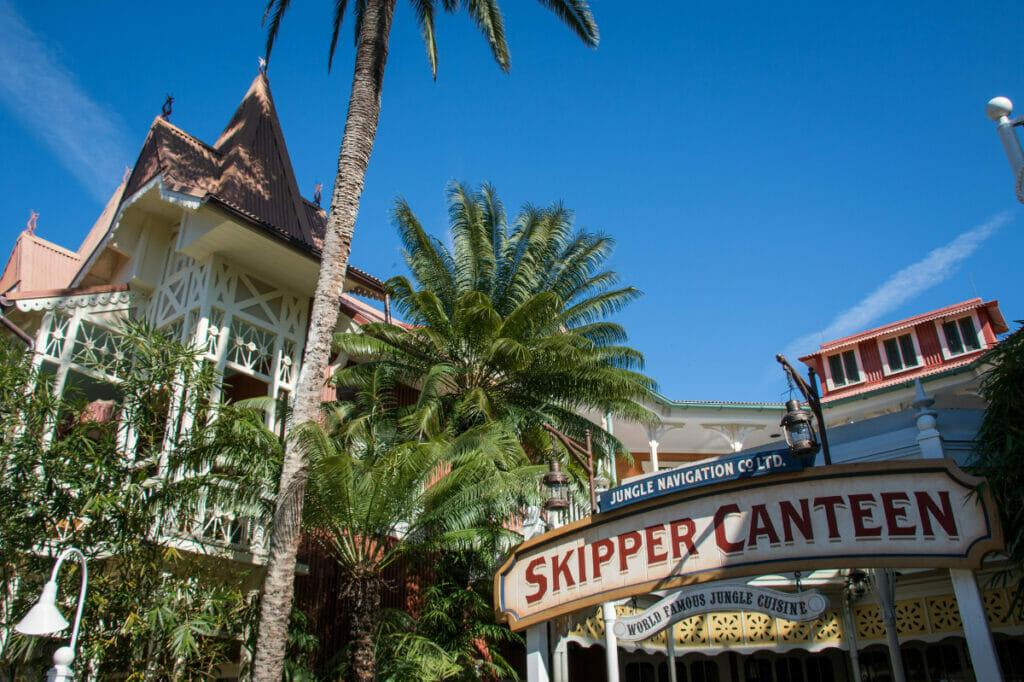 Skipper Canteen at Magic Kingdom exterior