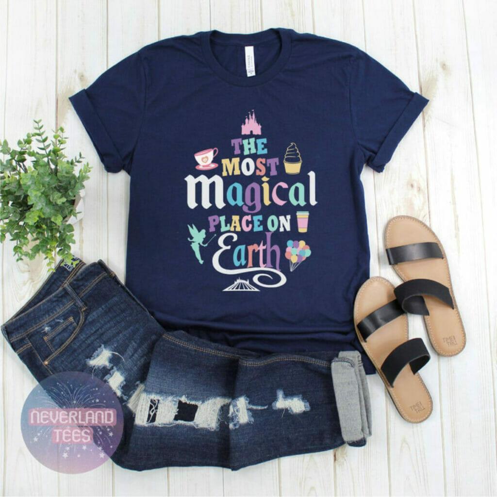 magic kingdom shirt